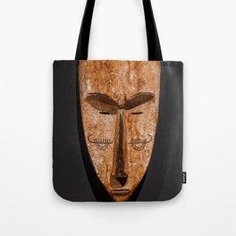 Cameroon fang ngil african wooden mask Tote Bag