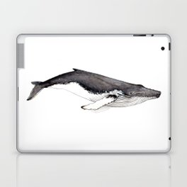 Humpback whale for whale lovers Laptop & iPad Skin