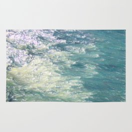 Sea Painting Maravellous Effect with brushes Rug