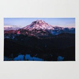 Mountain Sunset Rug