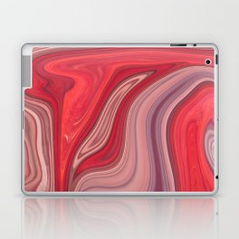 liquefied red Laptop & iPad Skin