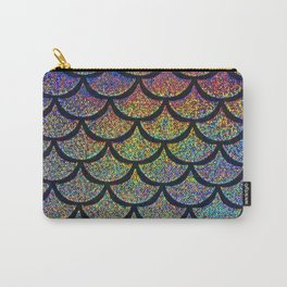 Cobalt Cantaloupe Scales Carry-All Pouch