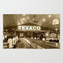 Texaco Rug