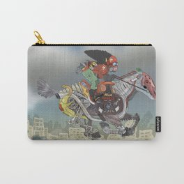 Afro Angels Carry-All Pouch