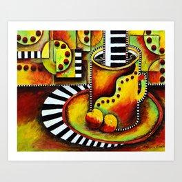 A Taste of Jazz I Art Print
