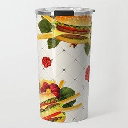 cheeseburger in gangstas paradise Travel Mug