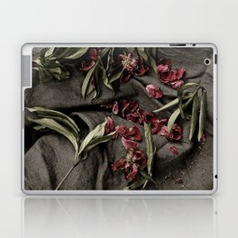 """Peonies are beautiful from the """"bud to to the end."""" Laptop & iPad Skin"""