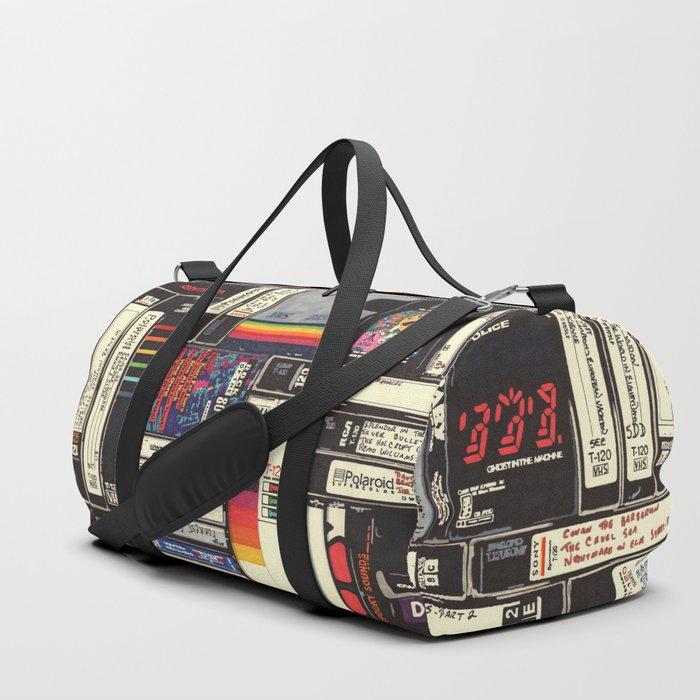 Cassettes, VHS & Games Duffle Bag