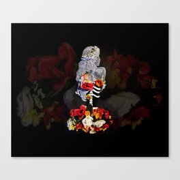 eve in the garden Canvas Print