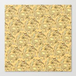 Pasta Skin Canvas Print