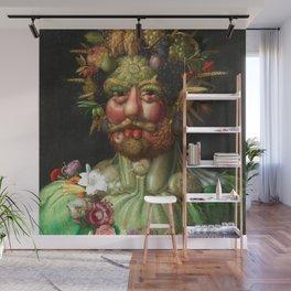 Rudolf II as Vertumnus by Giuseppe Arcimboldo, 1591 Wall Mural