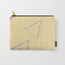Triangle origami ux thinking Carry-All Pouch