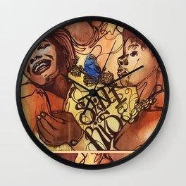 The Queen of Poetry Wall Clock