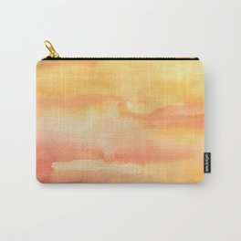 Apricot Sunset Carry-All Pouch