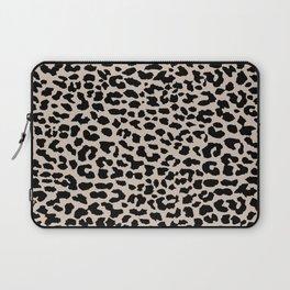 Tan Leopard Laptop Sleeve