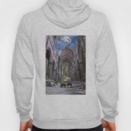Church in forest Hoody