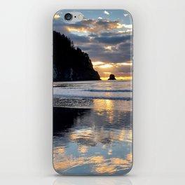 Sunset reflection iPhone Skin
