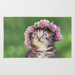 Springtime Feline Princess Rug