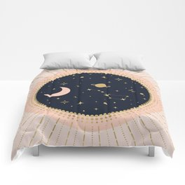 Love in Space Comforters