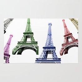 Eiffel Tower Paris Rug