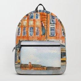 The Golden Sheaf Hotel Backpack