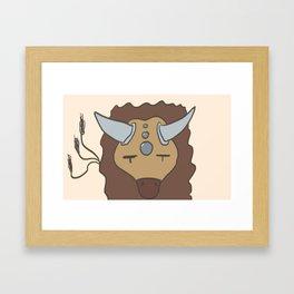 Tauros Framed Art Print