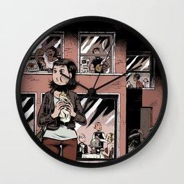 Digestate Wall Clock