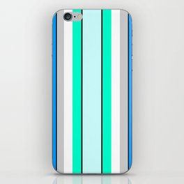 Aquafresh Curtains iPhone Skin