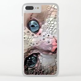 Look Into My Eyes Clear iPhone Case