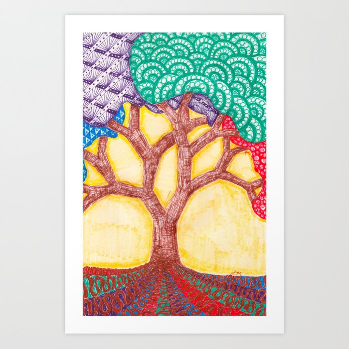 Tree of Realized Potential Art Print