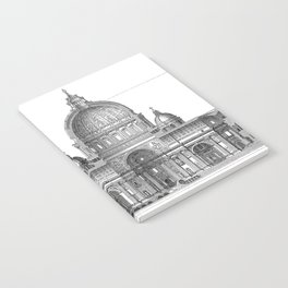 St. Peter Basilica - Rome, Italy Notebook