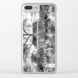 Old Dutch Church Of Sleepy Hollow Vintage Clear iPhone Case