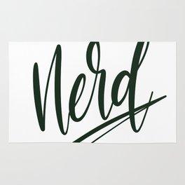 Nerd / Dark Green Rug