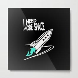 more space Metal Print