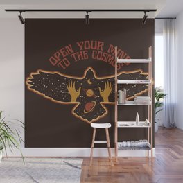 OPEN YOUR MIND TO THE COSMOS Wall Mural