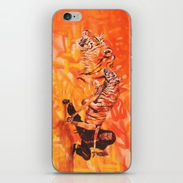 Roaring Tiger Broadsword iPhone Skin
