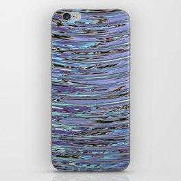 Capillary Wave iPhone Skin
