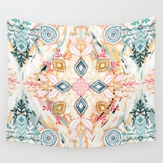 Wonderland in Spring Wall Tapestry