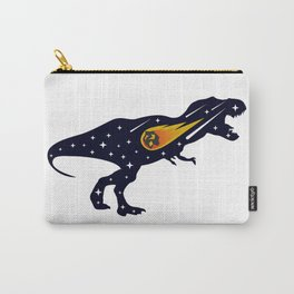 Dinosaur and meteorite strike #society6 #decor #buyart #artprint Carry-All Pouch