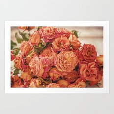 The Roses Art Print
