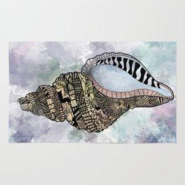 Shells Sea Design Art Rug