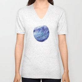 Pacific Waves Unisex V-Neck