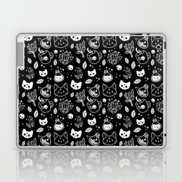 Herb Witch // Black & White Laptop & iPad Skin