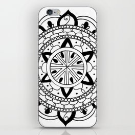 Mandala #3 iPhone Skin