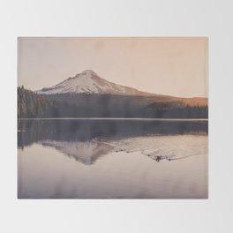 Wild Mountain Sunrise Throw Blanket