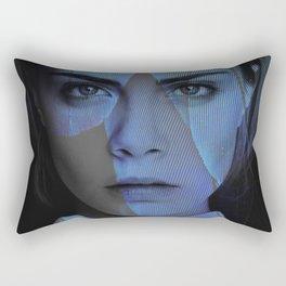 Cara Delevingne  Rectangular Pillow