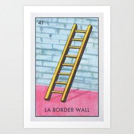 La Boarder Wall Art Print