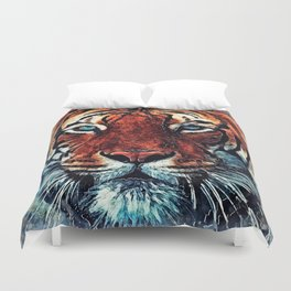 Tiger spirit Duvet Cover