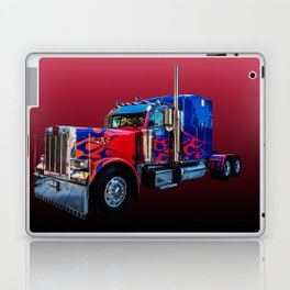 American Truck Red Laptop & iPad Skin