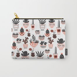Mid-Century Modern Cacti Carry-All Pouch